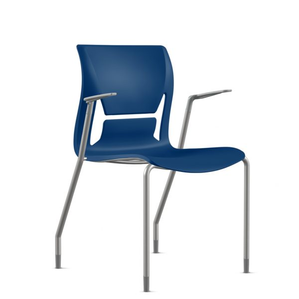 alan desk mimi stacking chair 9to5 seating