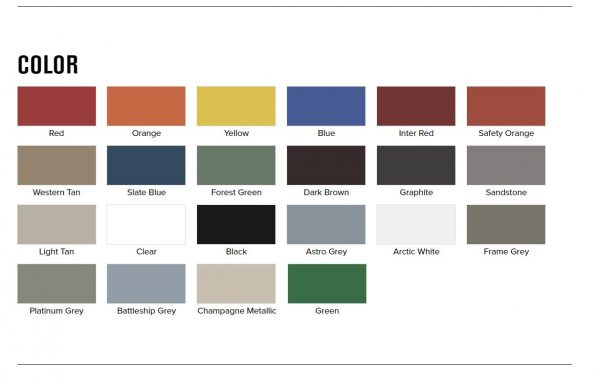 montisa metals colors only