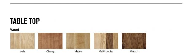 montisa wood only