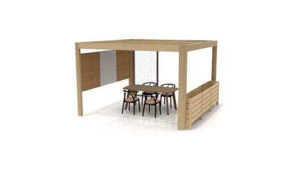 t100209 <ul> <li>available as a meeting table</li> <li>top options: laminate, veneer, and solid surface</li> </ul>