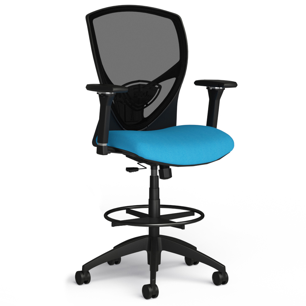 Alan Desk Theory Stool 9to5 Seating