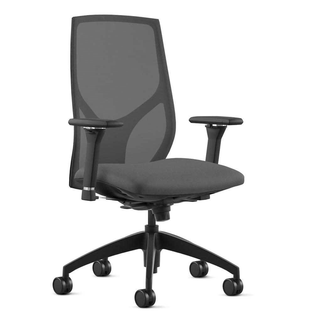 Alan Desk Vault Seating 9to5 Seating