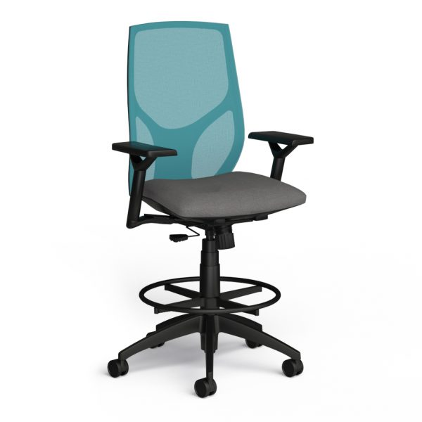 alan desk vault stool 9to5 seating