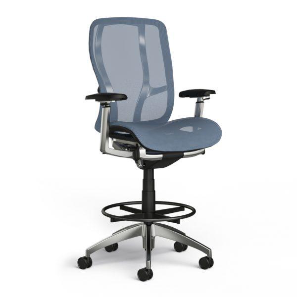 alan desk vesta stool 9to5 seating