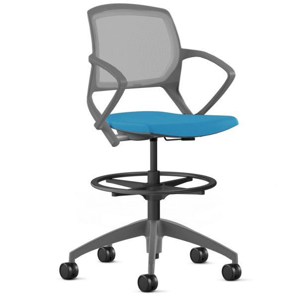 alan desk zoom stool 9to5 seating
