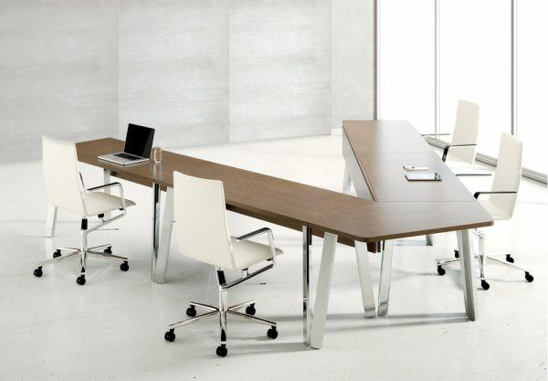 agility reconfigrable table alan desk nucraft 1