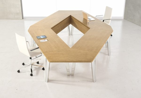 agility reconfigrable table alan desk nucraft 3
