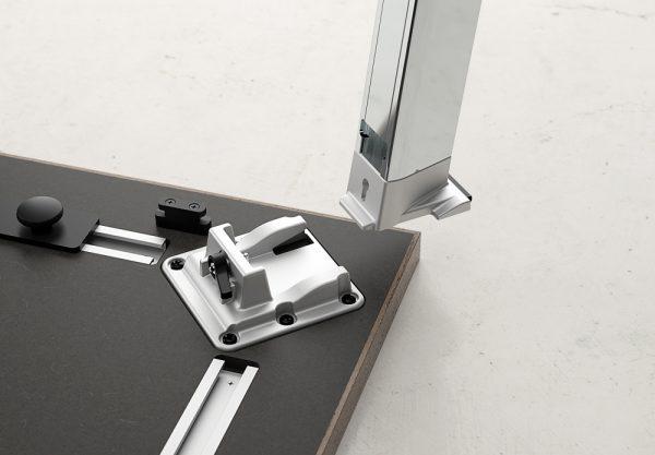 agility reconfigrable table alan desk nucraft 4
