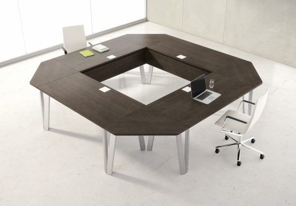 agility reconfigrable table alan desk nucraft 6