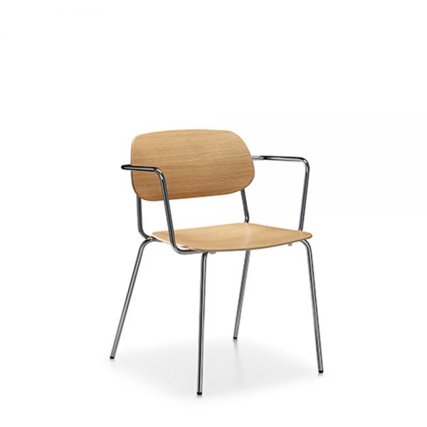 Alan Desk Chips Stacking Chair Keilhauer