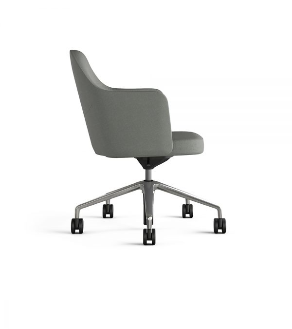 collo keilhauer alan desk 49 <ul> <li>available in multiple textiles & com</li> <li>arm or armless option</li> <li>5 star aluminum base or nylon base available in black, warm grey, and dark grey</li> <li>available as a guest & lounge chair</li> </ul>