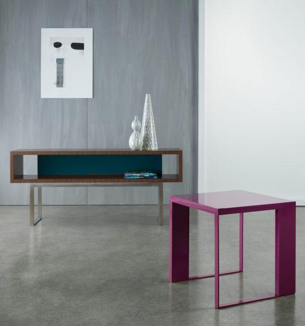 Alan Desk Emme Table and Credenzas Nucraft