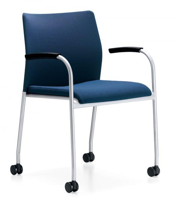 Alan Desk Filt Stacking/Nesting Chair Keilhauer