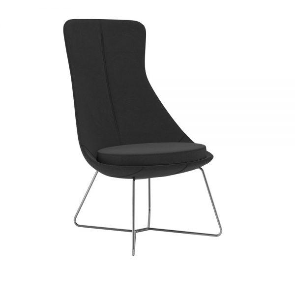 Alan Desk Juxta Lounge Seating Keilhauer