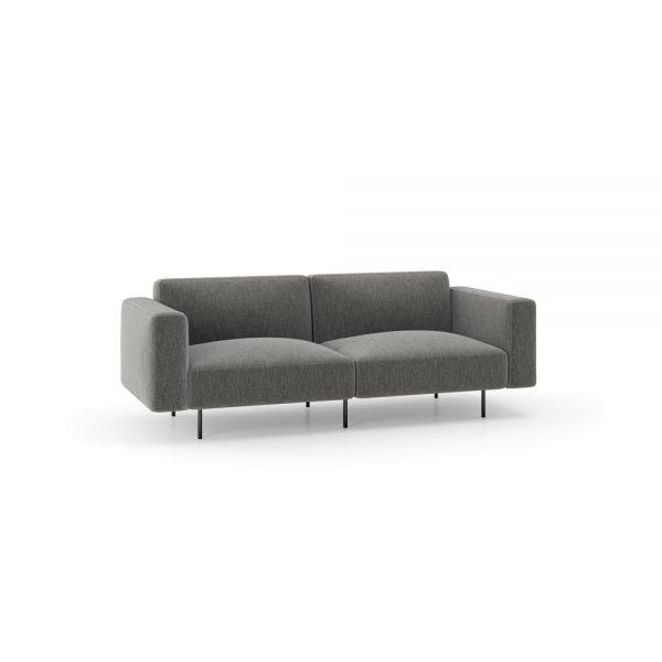 alan desk meander lounge seating keilhauer