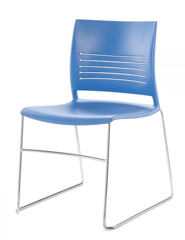 Alan Desk Mimic Stacking/Nesting Chair Keilhauer