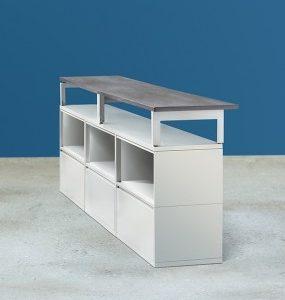 Alan Desk Billie C-Top Workstation Montisa