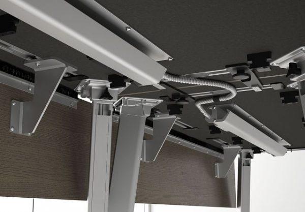 nucraft agility reconfigurable alan desk 14