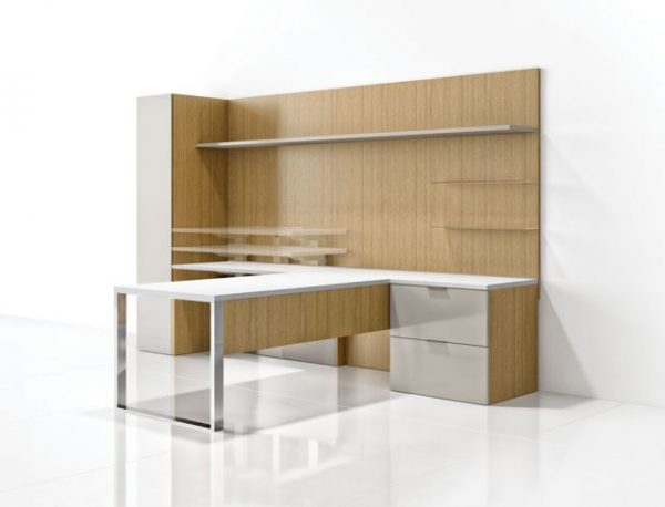 alan Desk Cambium Casegoods Nucraft