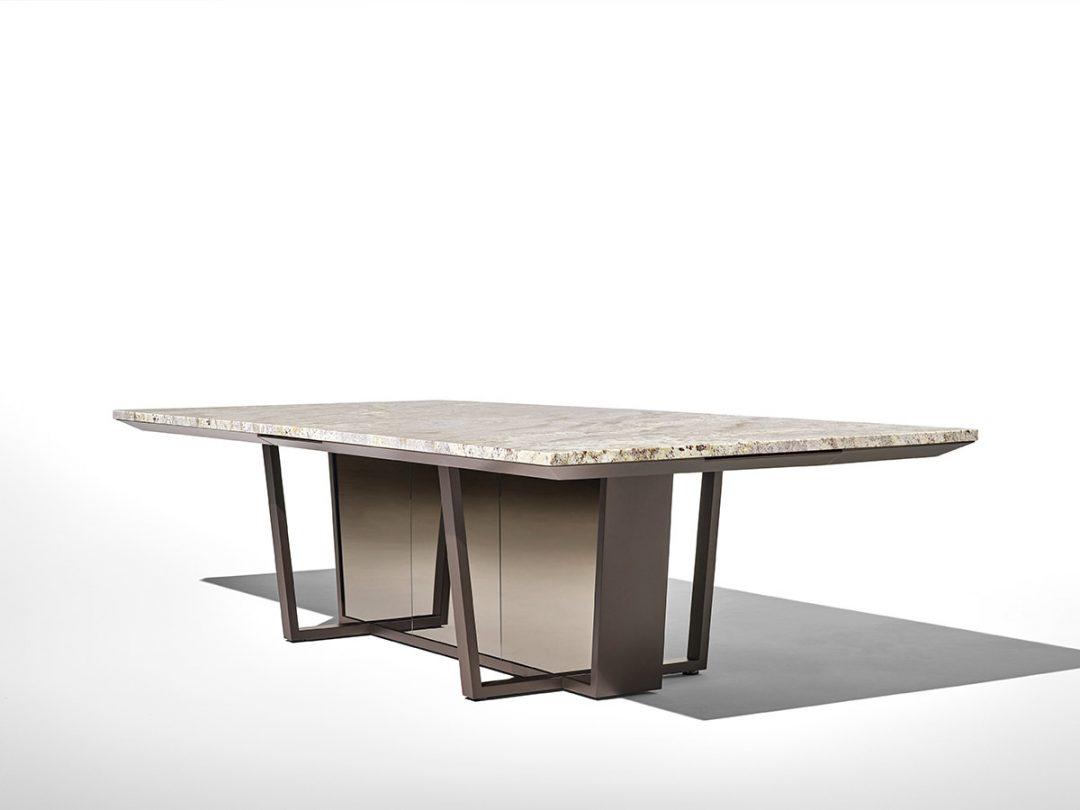 Alan Desk Crossbeam Table Nucraft
