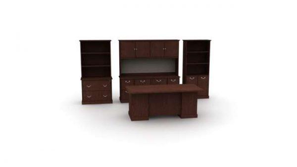 ofs cambria casegoods alan desk 1