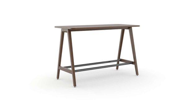 alan desk eleven wood cafe/dining table ofs