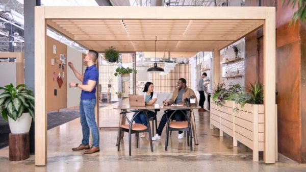 ofs heya tables conference alan desk 4 <ul> <li>available as a meeting table</li> <li>top options: laminate, veneer, and solid surface</li> </ul>
