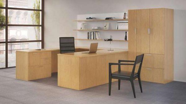 ofs intermix casegoods storage alan desk 2