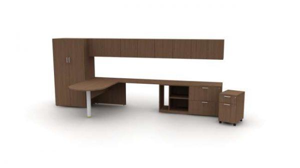ofs pulse casegoods alan desk 15