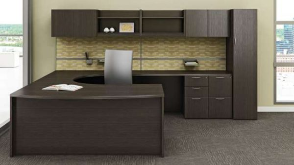 ofs pulse private office casegoods alan desk 1