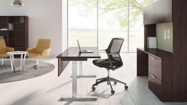 ofs pulse private office casegoods alan desk 2
