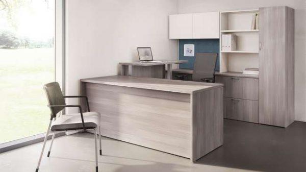 ofs pulse private office casegoods alan desk 3