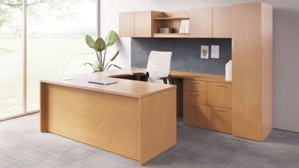 ofs pulse private office casegoods alan desk 4