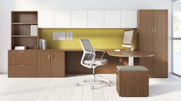ofs pulse private office casegoods alan desk 5