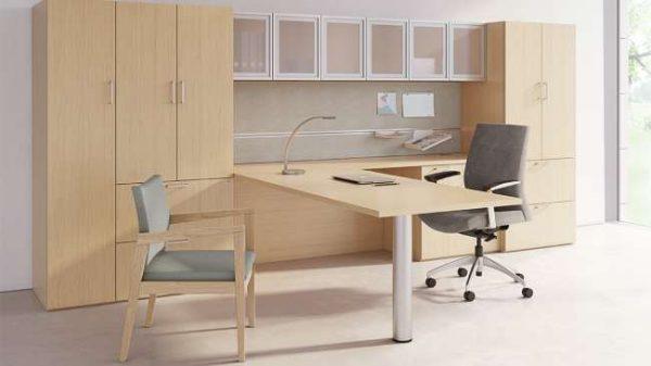 ofs pulse private office casegoods alan desk 6