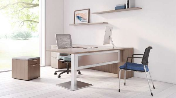 ofs pulse private office casegoods alan desk 8
