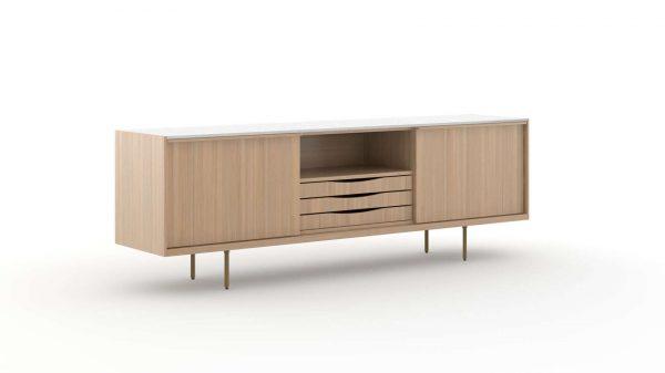 ofs rowen casegoods storage alan desk 12