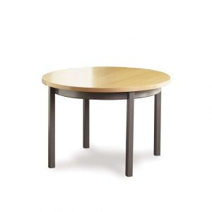 Alan Desk Silvr Ion Metal