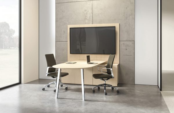two4six nucraft media table desk height