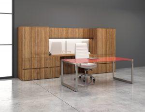 krug latitude glass table desk