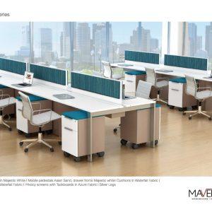 Alan Desk Apex Open Plan Maverick