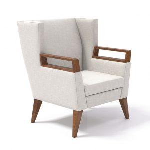 Alan Desk Clarke Wood Lounge Coriander Designs