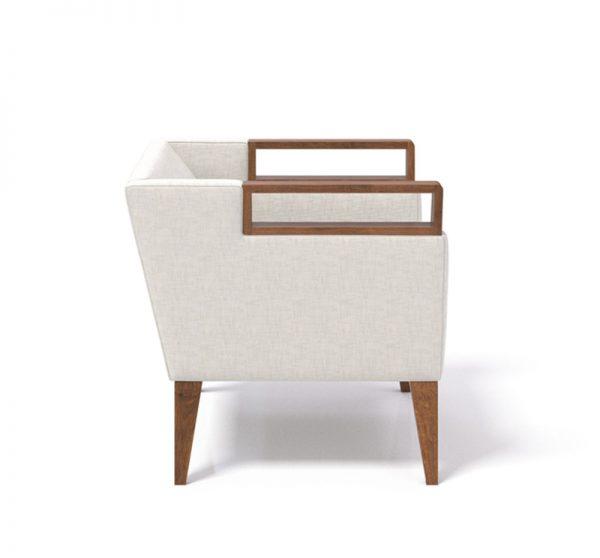 clarke wood lowback lounge chair coriander designs alan desk 6