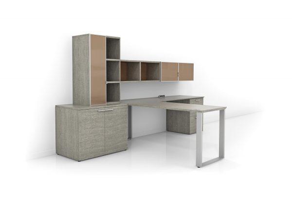 Alan Desk Frame Leg Private Office Three H