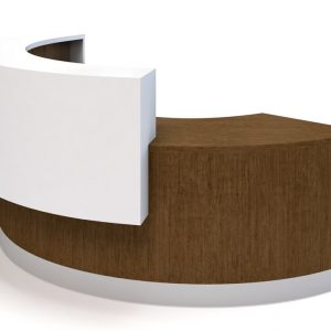Alan Desk Oly Reception Desk Coriander Designs
