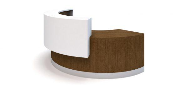 Alan Desk Oly Reception Desk Coriander Designs