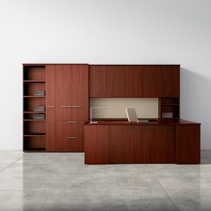 Alan Desk Premier Series Private Office Casegoods Three H