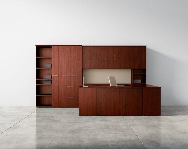 Alan Desk Premier Series Private Office Casegoods Three H