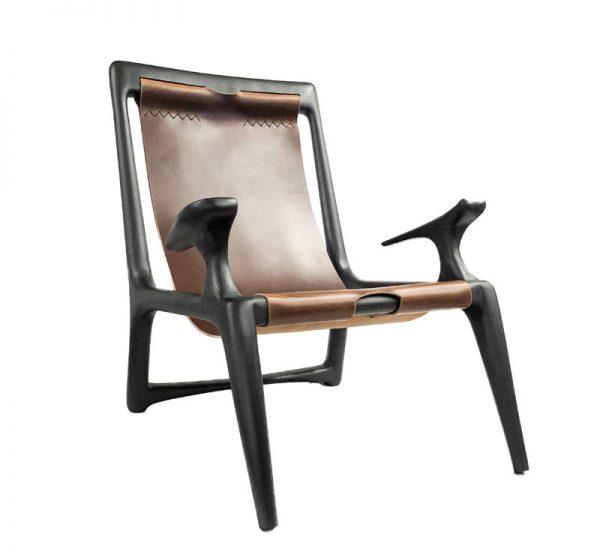 Alan Desk Sling Lounge Chair Coriander Designs