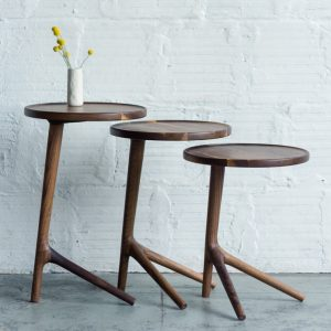 Alan Desk Tripod Occasional Tables Coriander Designs Alan Desk